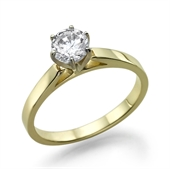 טבעת יהלום 0.25 קראט