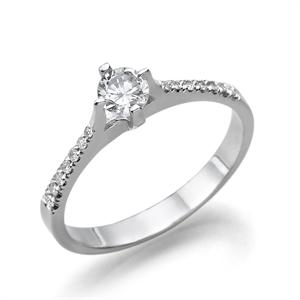תמונה של טבעת יהלום 0.5 קראט