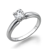 טבעת יהלום 0.4 קראט